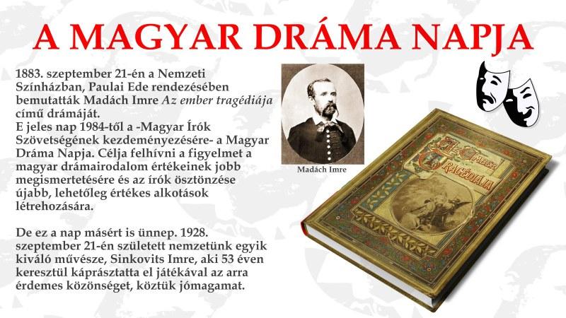 Magyar Dráma Napja