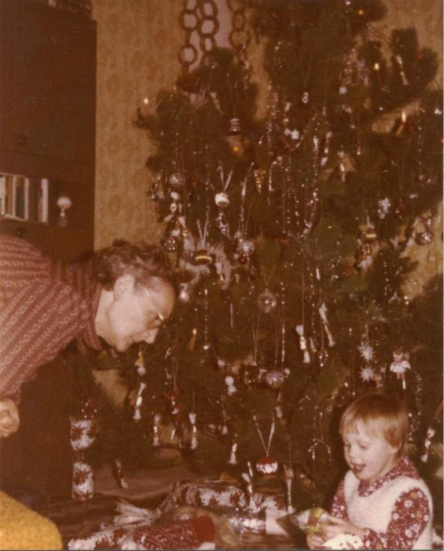 Régi karácsony Nagyival