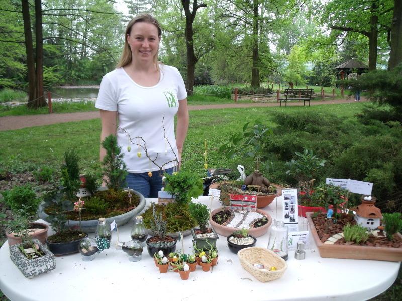joba katalin miniature garden exhibition
