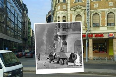 Blaha Lújza tér régen és most