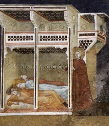 Szent Miklós és a 3 szegény lány