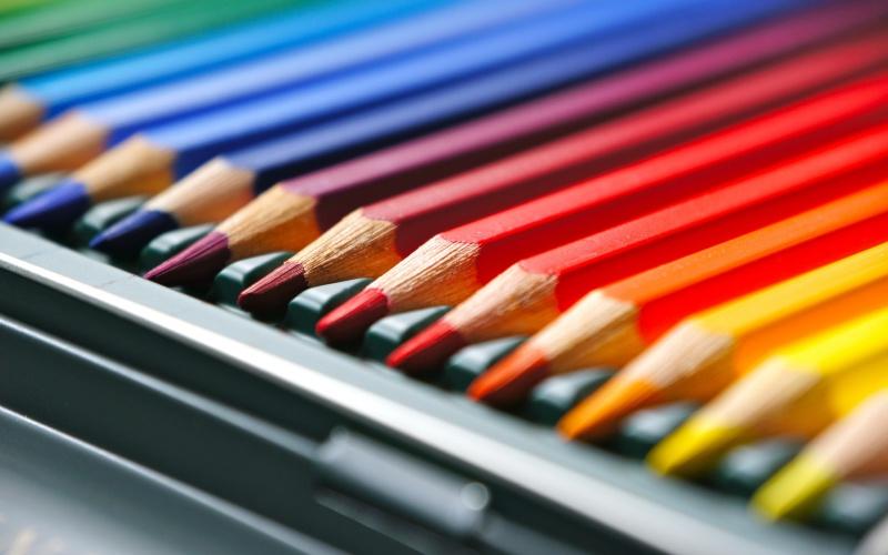 ceruzák szivárvány