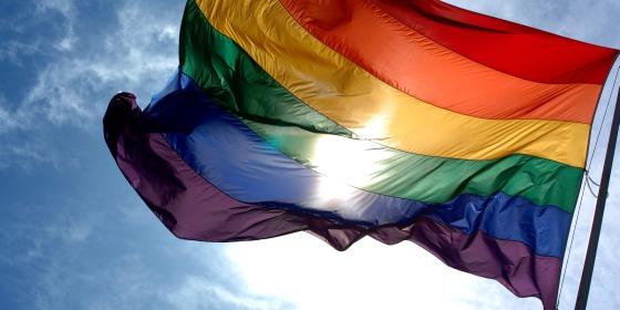 szivárvány zászló