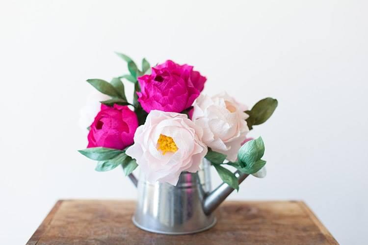 Pünkösdi rózsa papírból