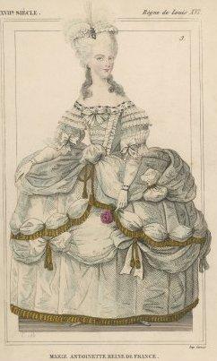 fehér bőr Marie Antoinett