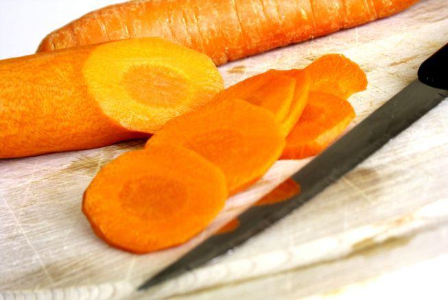 egészséges táplálkozás - sárgarépa