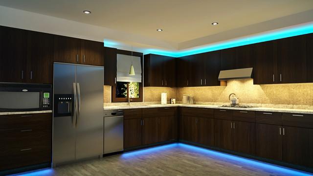 Konyhabútor LED pultvilágítás