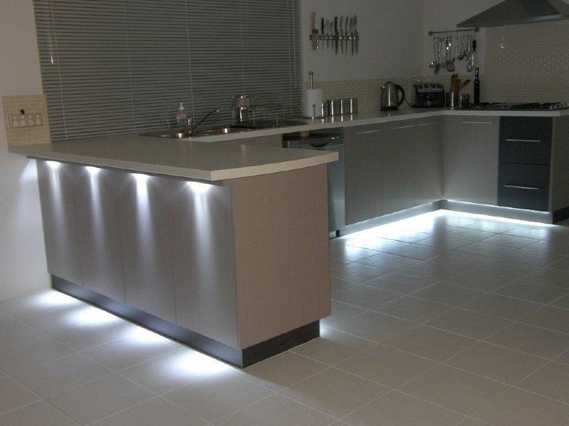 Konyhabútor látvány LED