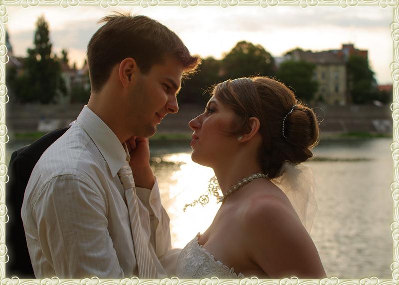 Judit esküvőjén