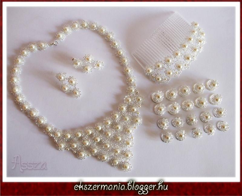 Margaréta szett esküvőre
