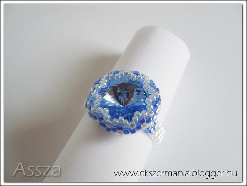 Befoglalt rivoli gyűrű