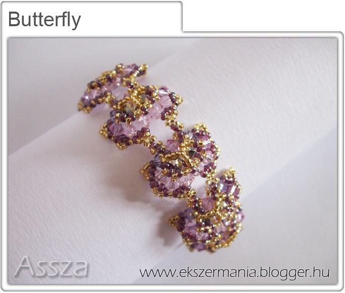 Butterfly karkötő