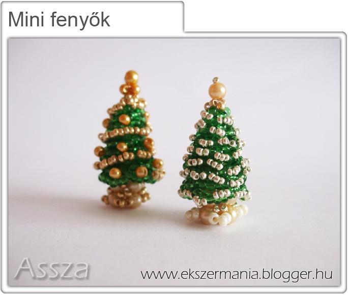 Mini fenyőfa