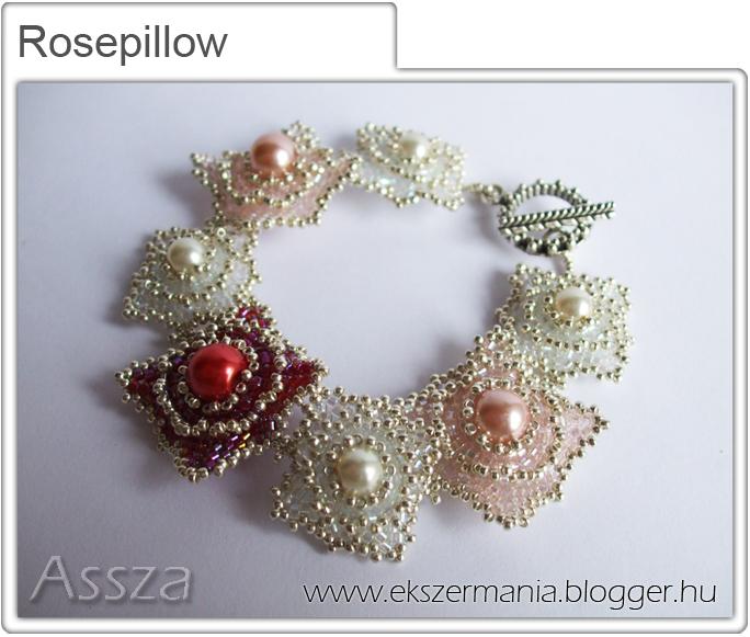 Rosepillow karkötő