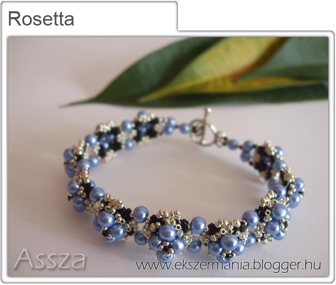 Rosetta karkötő