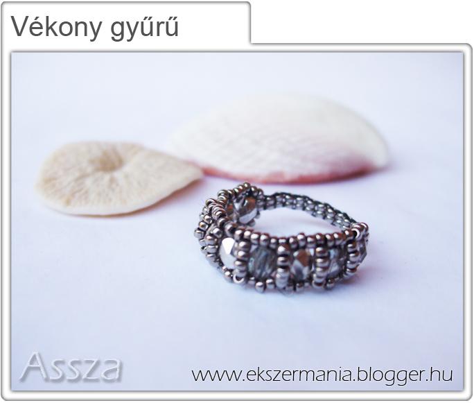 Vékony gyűrű