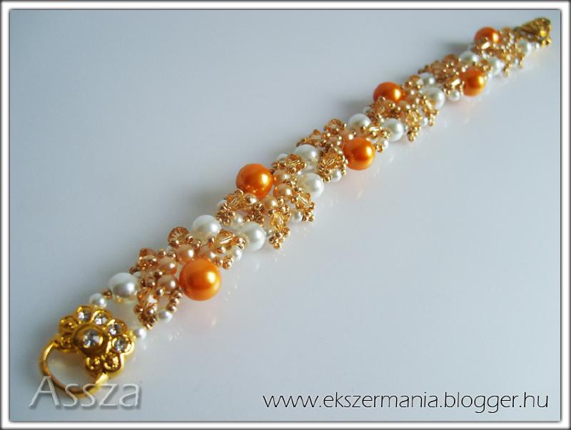 Margaréta karkötő kristályokból