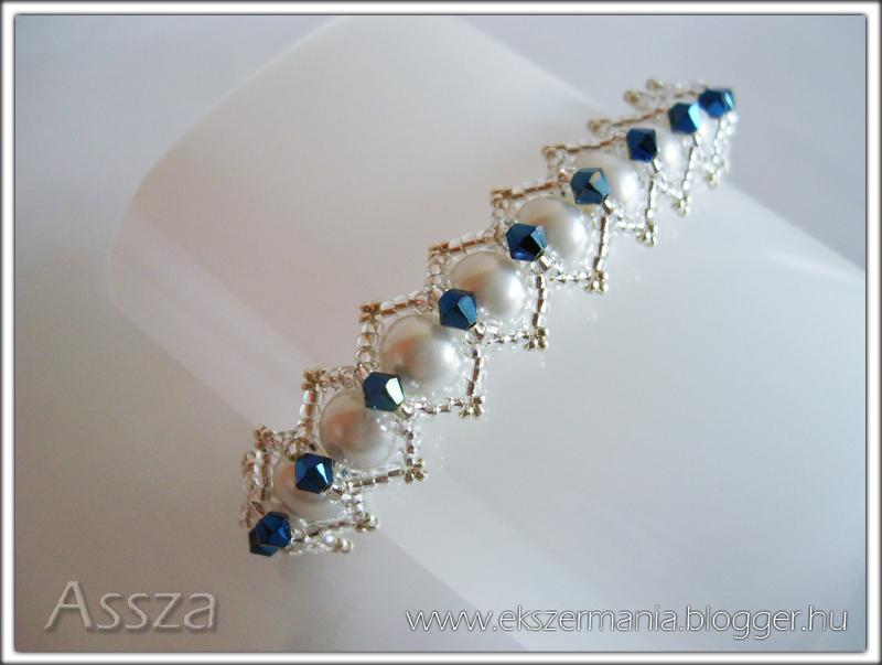 Tekla karkötő Swarovski kristályokkal