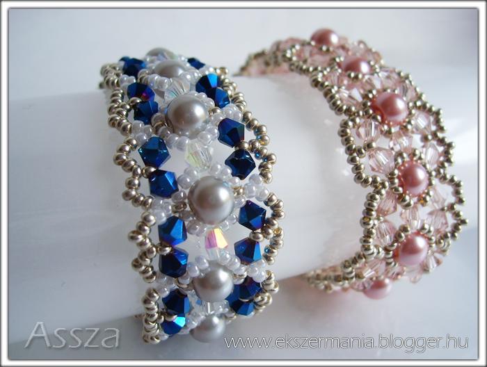 Karkötők kristályokkal