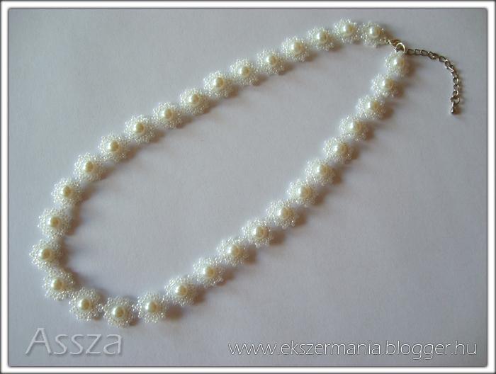 Esküvői ékszer: nyaklánc