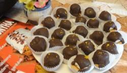 csokoládés túróbomba