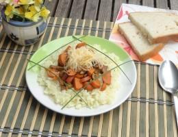 rizs virslivel háziaszony módra