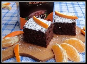 narancsos kakaós sütemény