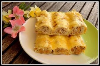 török palacsintában sült vagdalt