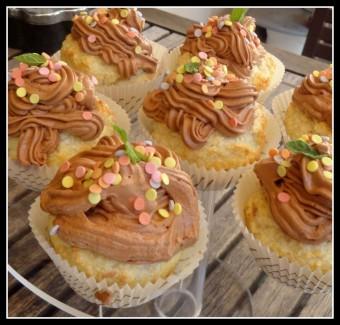 kókuszos csokis cupcakes közel