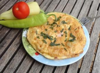 omlett gazdagon