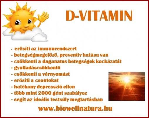 A D-vitamin hiány 7 jele, D-vitamin tartalmú ételek..