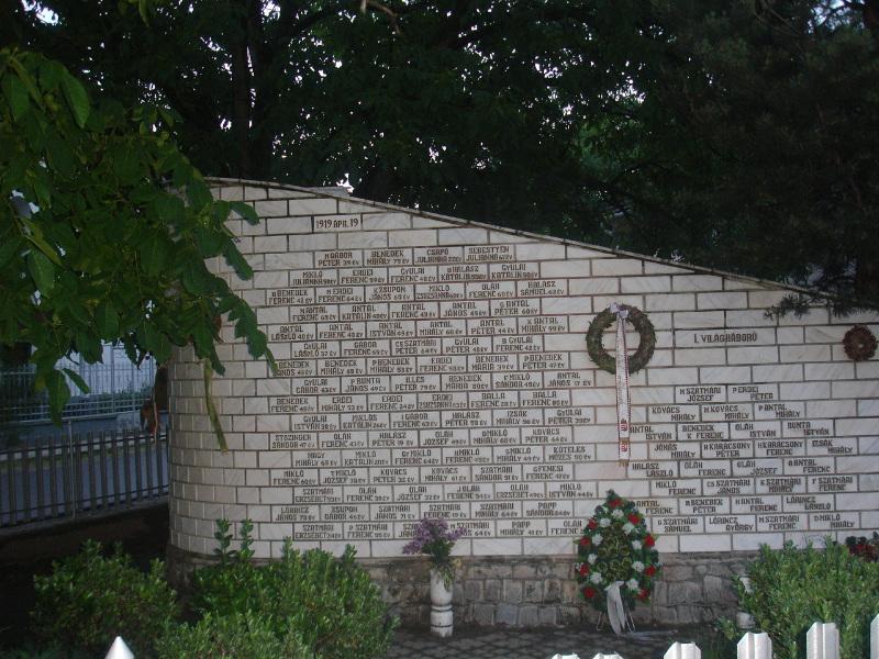 Köröstárkány - 91 magyar áldozat emlékműve