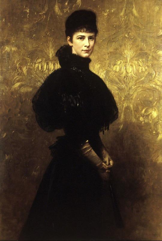 Benczur Gyula: Erzsébet királyné