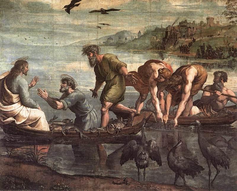 Raffaello Sanzio: A csodálatos halfogás