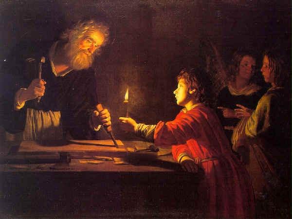 Gerard von Honthorst: József az ács