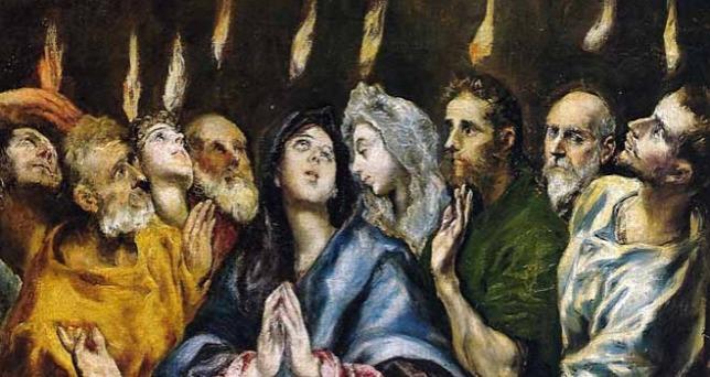 El Greco: A Szentlélek eljövetele