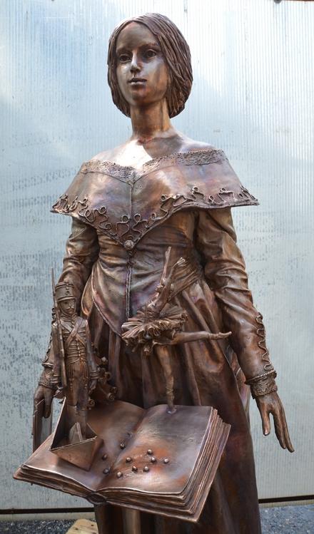 Szendrey Júlia szobra Koppenhágában