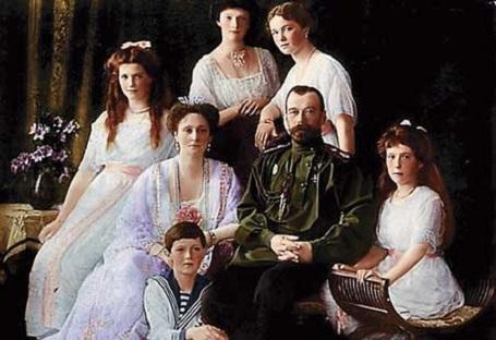 A Romanov család