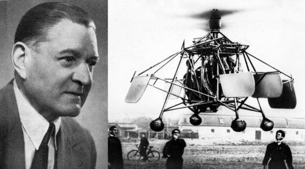Asbóth Oszkár - Asbóth-féle helikopter