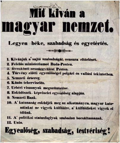 Petőfi: Talpra magyar, hí a haza! - Hajdú-Négyessy