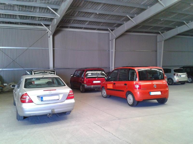 Remek parkolási lehetőség Ferihegynél