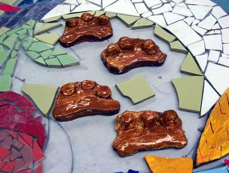 Alkotóház - A mozaik
